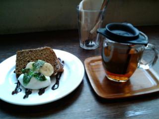 池袋cafe pause<br />  にて